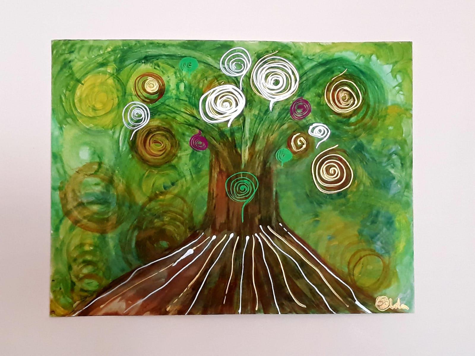 Árbol que sana y brilla - Lola Ortega Mairiel