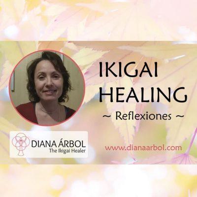 Reflexiones descubrir tu Ikigai Diana Árbol Ikigai Healing