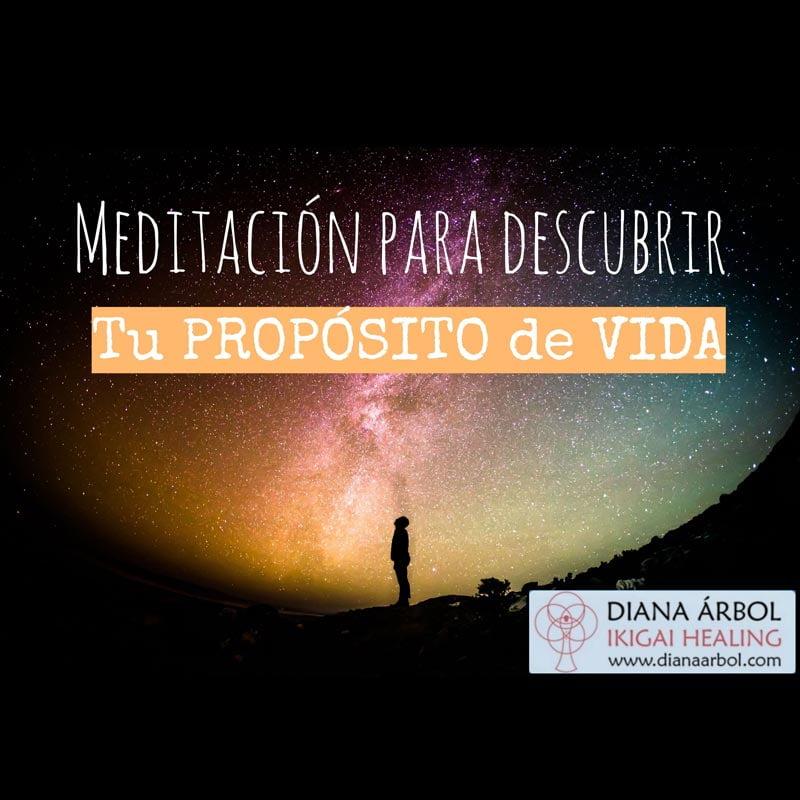 Meditación para descubrir tu propósito de vida Diana Árbol Ikigai Healing