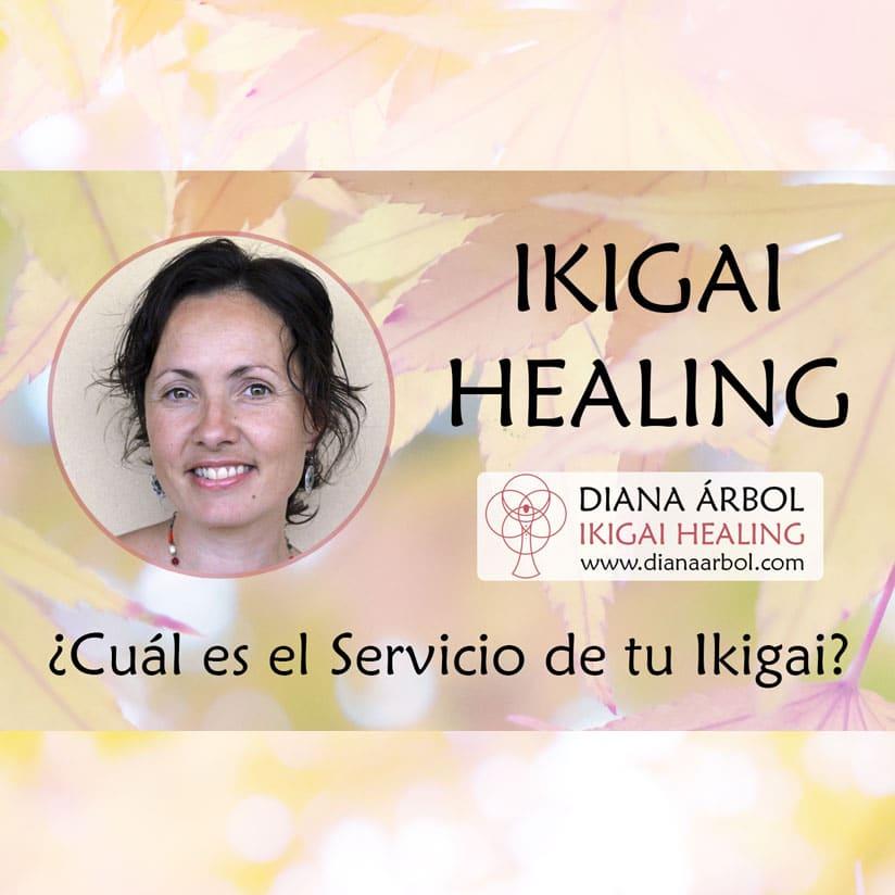 el servicio de tu ikigai Diana Árbol Ikigai Healing
