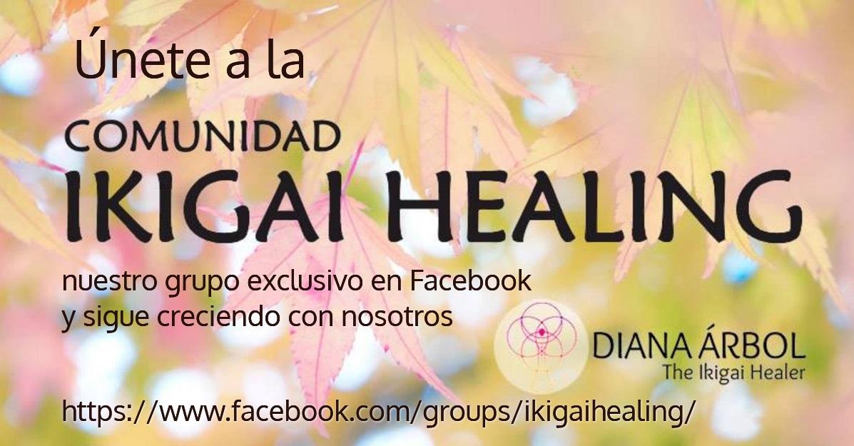 unete Comunidad Ikigai Healing