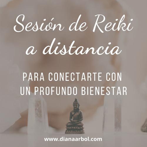 Sesión de Reiki a distancia para conectarte con un profundo bienestar