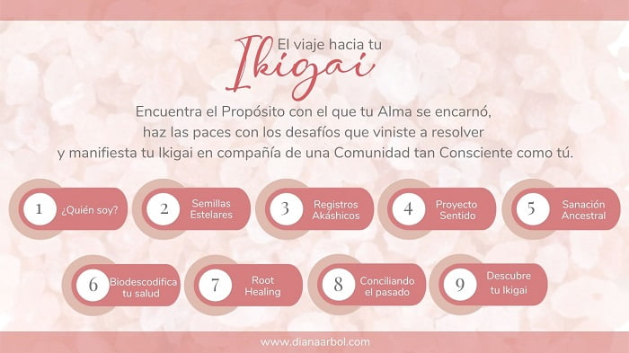 Contenido el Viaje hacia tu Ikigai Diana Árbol Ikigai Healing
