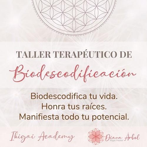 Taller de Biodescodificación Soul Communication 1 Diana Arbol ikigai Healing