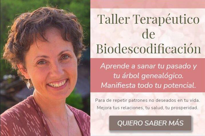 Taller de Biodescodificación Diana Árbol Ikigai Healing